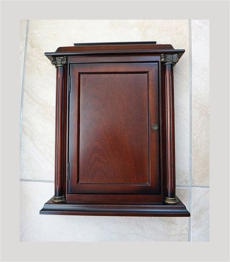 wall mounted key cabinet vintage bombay company key cabinet wall mounted or