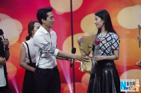film china the third way of love liu yifei song seung heon promote their new movie quot the