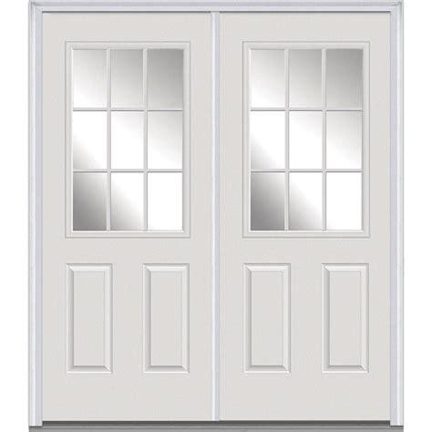 doors 72 x 80 milliken millwork 72 in x 80 in grilles between glass
