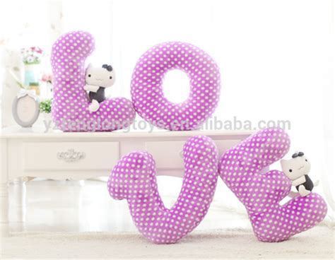 Letter Shaped Pillows by Sale Stuffed Letter Letter Shaped Pillow Buy