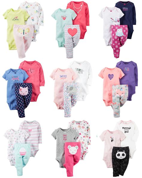 Carters Pant 3 In 1 24 Month new carters newborn 3 6 9 12 18 24 months bodysuit set baby clothes ebay