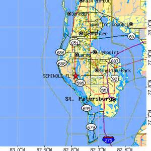 map of seminole florida seminole florida fl population data races housing