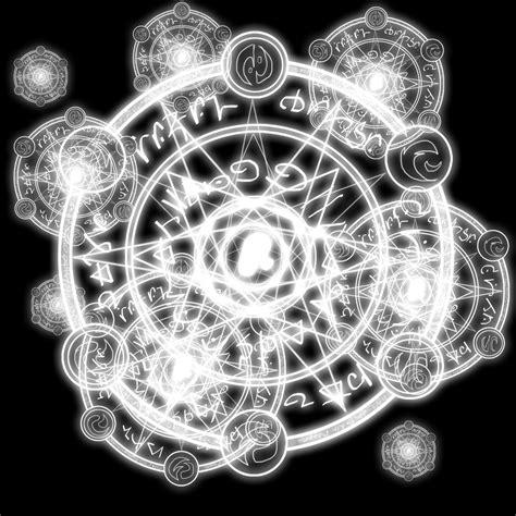 Magic White white magic circle by inkfoxie on deviantart