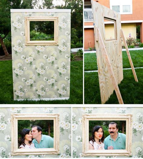 Photo Booth Frame Diy Wedding Budget Friendly Photo Booth Ideas