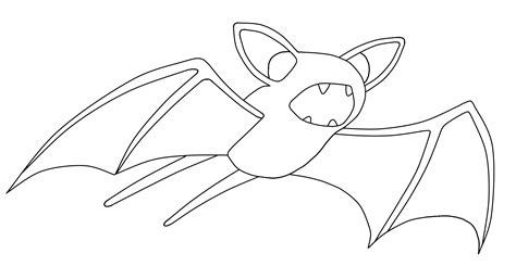 pokemon zubat coloring pages pokemon zubat 041 lineart by wallpaperzero on deviantart