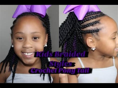 Crochet Hair Styles Ponytail by How To Corn Roll Crochet Ponytail Braided Styles