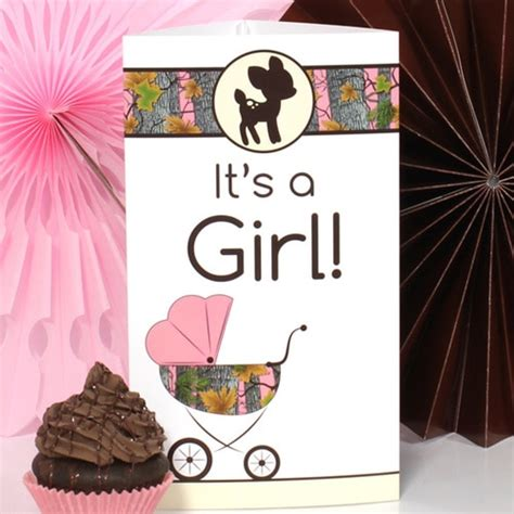 Camouflage Decorations For Baby Shower by Pink Camo Baby Shower Decorations