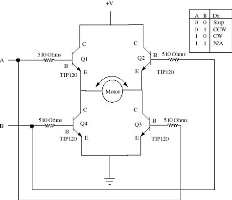 transistor h bridge gt circuits gt h bridge l41135 next gr