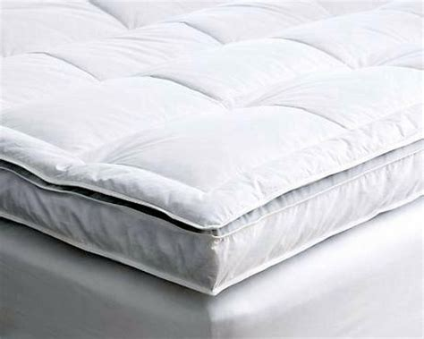 double layer hotel quality mattress toppers