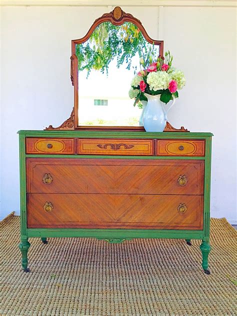 paint furniture d d s cottage and design vibrant green milk paint dresser