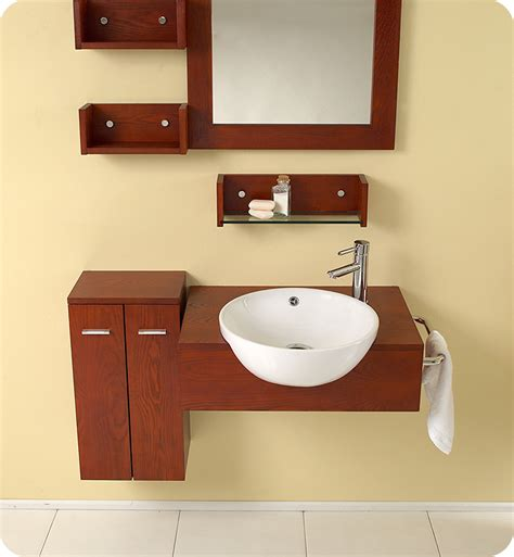 25 stile modern bathroom vanity w mirror side cabinet