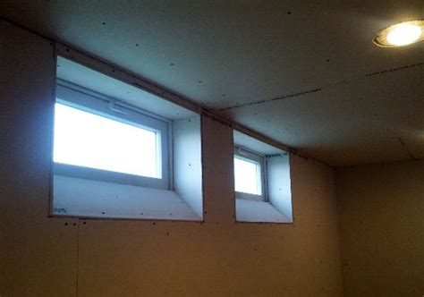 great basement idea angled basement windows