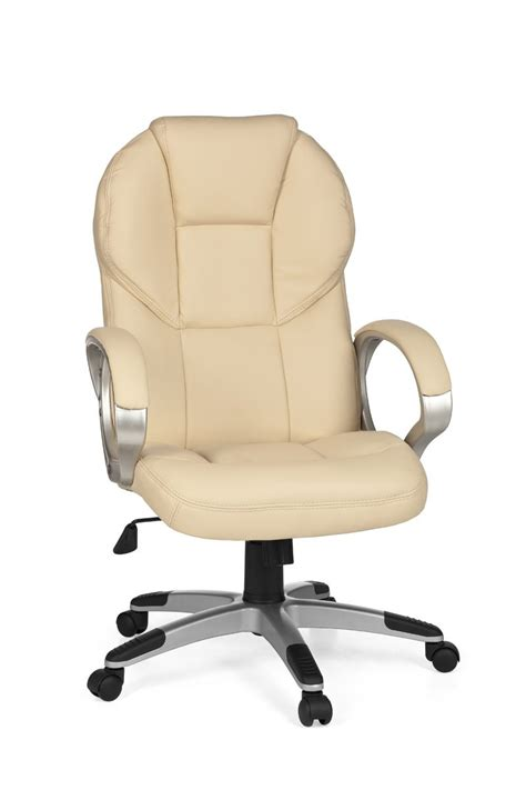 Leather Swivel Desk Chair by Amstyle Executive Office Swivel Desk Chair Imitation Leather New Ebay