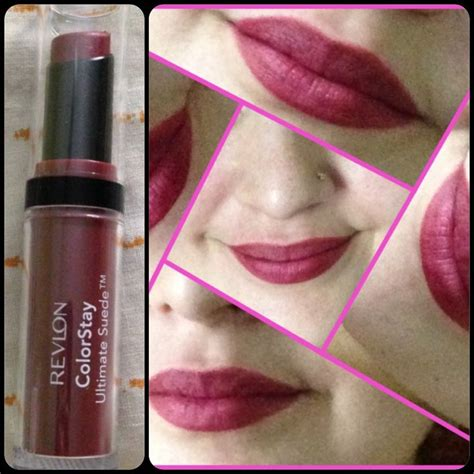 revlon colorstay ultimate suede lipstick swatches marlin revlon backstage 035 matte products i love