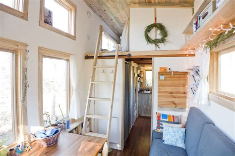 tiny houses interior solar tiny house project on wheels idesignarch