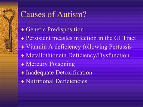Gi Detox Autism by 2008 03 Louisville Autism Lecture
