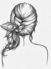 sketches of hair drawings tumblr