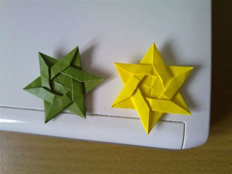 How To Make An Origami Of David - origami maniacs origami david s by kunihiko kasahara