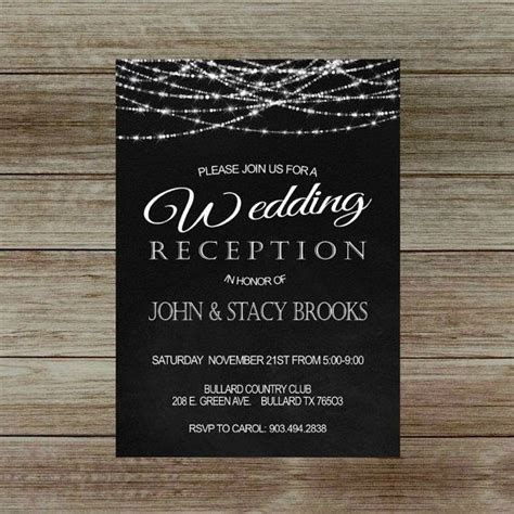 invitation wedding reception only best 25 reception only invitations ideas on