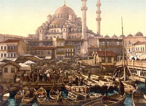 Ottoman Empire Wiki File Flickr Trialsanderrors Yeni Cami And Emin 246 N 252 Bazaar Constantinople Turkey Ca 1895