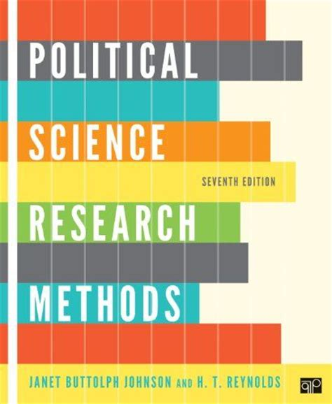 Research Methods For Business 7th Edition political science research methods 7th edition by janet