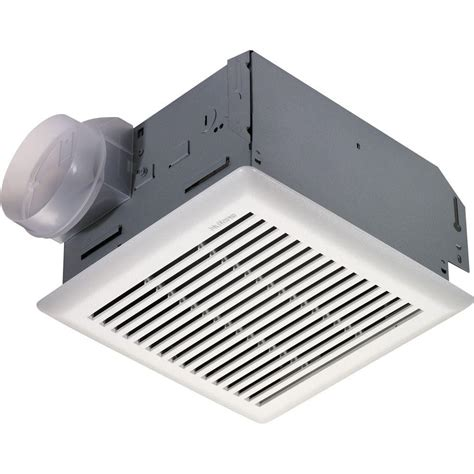 bathroom exhaust fan home depot nutone 110 cfm wall ceiling utility exhaust fan 672r the