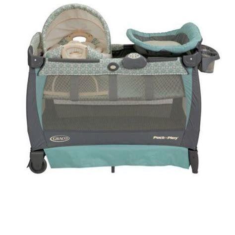 play pack n graco playard bassinet changer napper travel rocking seat bag new play pens play