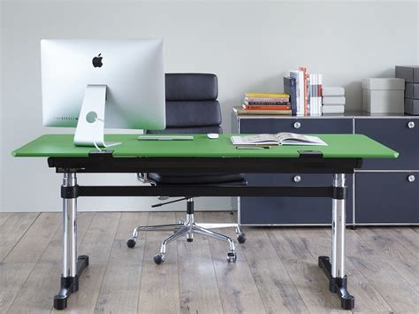 usm kitos m height adjustable office desk by usm