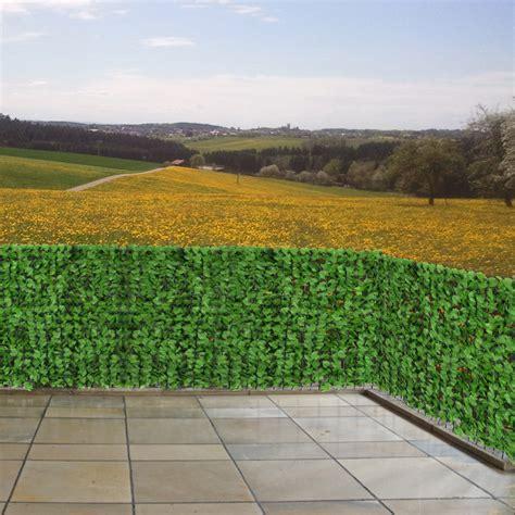 Fenster Sichtschutz Hell by Sichtschutz Windschutz F 252 R Balkon Terrasse Zaun Blatt