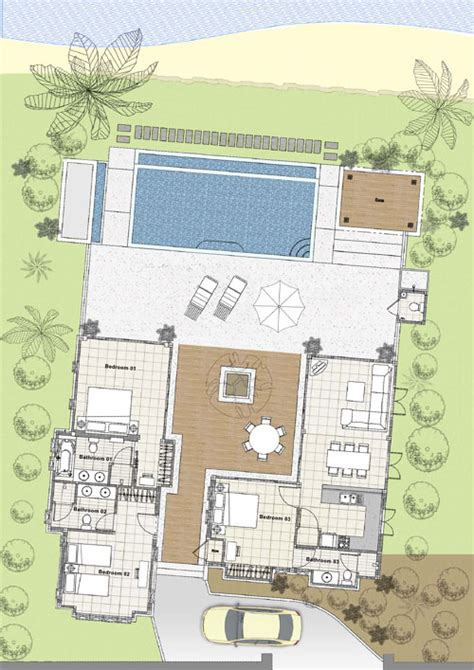 layout design villa villa layout koh samui beach villa