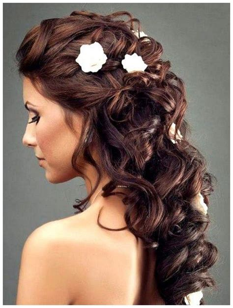 Wedding Hairstyles For Brunettes by Winter Wedding Hairstyles Search
