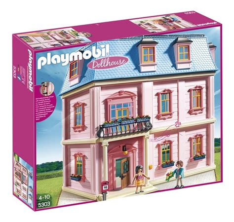 playmobil doll house playmobil dollhouse 5303 maison traditionnelle collishop