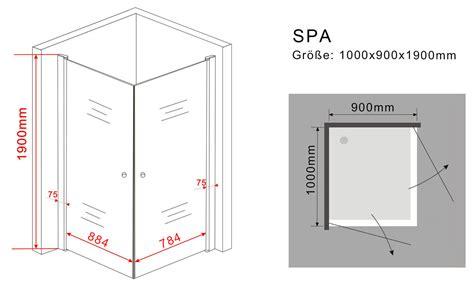 schiebetüren aus glas für innen duschkabine spa 100 x 90 x 190 cm ohne duschtasse duschdeals