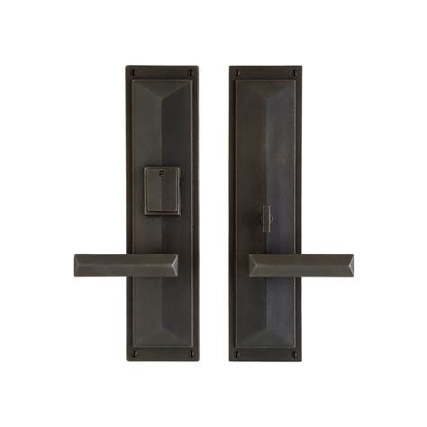 Exterior Door Lock Sets Exterior Door Set Designer Entry Set 3 12 X 18 Entry Thumblatch Mortise Lock G130 In Coleman