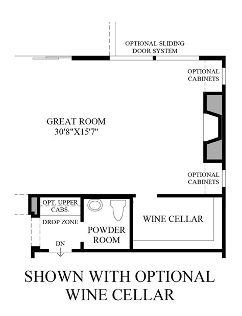wine cellar floor plans pinnacle at serrano the arzono st home design