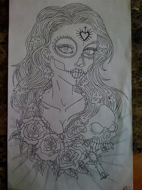 50 s pin up girl tattoos designs pin up outline pictures to pin on