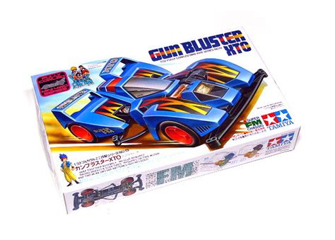 Gun Bluster Xto Set tamiya model mini 4wd racing car 1 32 gun bluster xto hobby 19419 mini 4wd rcecho