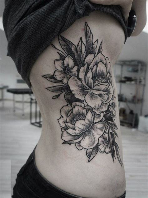 women s side tattoos best 25 flower side tattoos ideas on