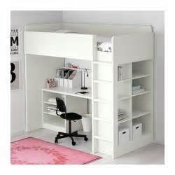 Loft Bed By Ikea Stuva Loft Bed Combo W 2 Shlvs 3 Shlvs White 207x99x193 Cm