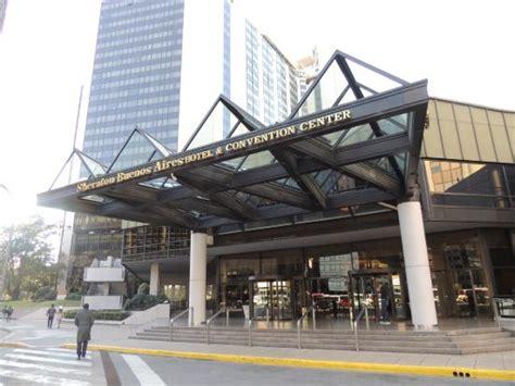 hotel entradas entrada hotel picture of sheraton buenos aires hotel