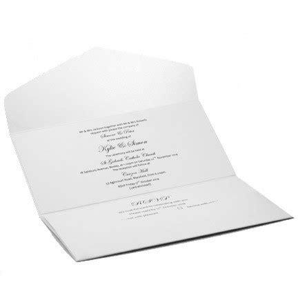 dl templates for invitations wedding invitations dl pouch pocket fold diamond white
