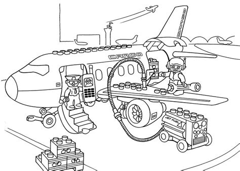 lego education coloring pages lego airport coloring page for kids printable free lego