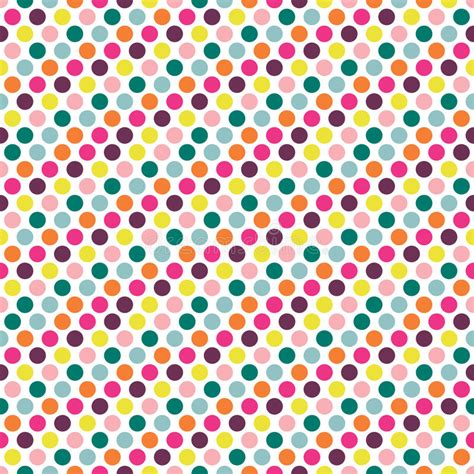dot pattern repeat color dot seamless repeat pattern stock vector