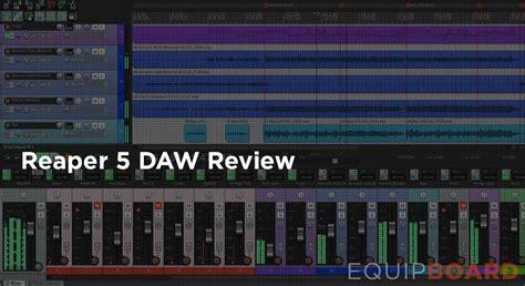 theme editor in reaper 5 reaper 5 daw review equipboard 174