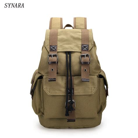 New Ambeebaby Backpack Bag new fashion s backpack vintage canvas backpack school bag s travel bags large capacity