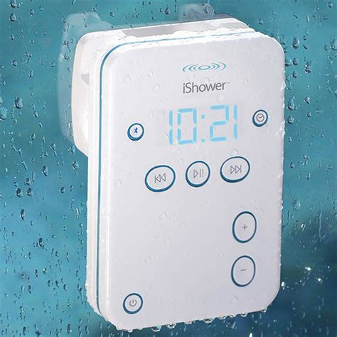 Speakers For The Shower by Ishower Bluetooth Speaker Sing In The Shower All Day Memoirs On A Rainy Day