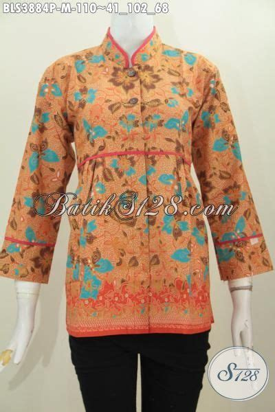 Baju Wanita Muda Pakaian Blus Wanita Muda Masa Kini Baju Blus Batik Jawa