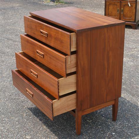 Teak Dresser by Vintage Teak Dresser Chest Of Drawers Ebay