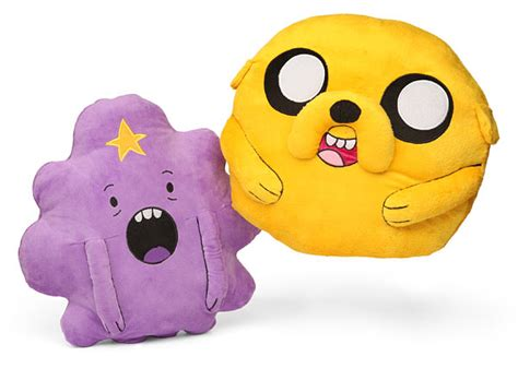 Cuddly Gadget Up by Adventure Time 16in Cuddle Pillows Thinkgeek