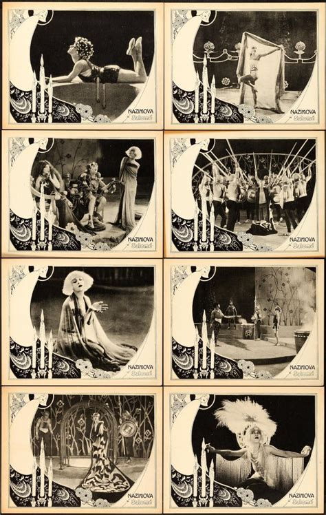 United Artists Gift Card - salome united artists 1923 lobby cards 8 11 quot x 1